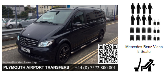 Passenger Mercedes Viano eight seater for Hire in Plymouth, Devon, UK